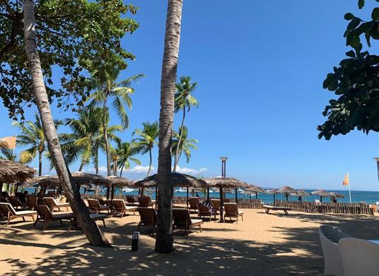 Beach view at Royal Beach Hotel & Spa, Madagascar