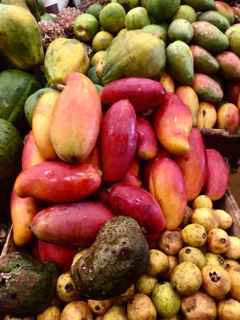 Mango in Hell Ville's market