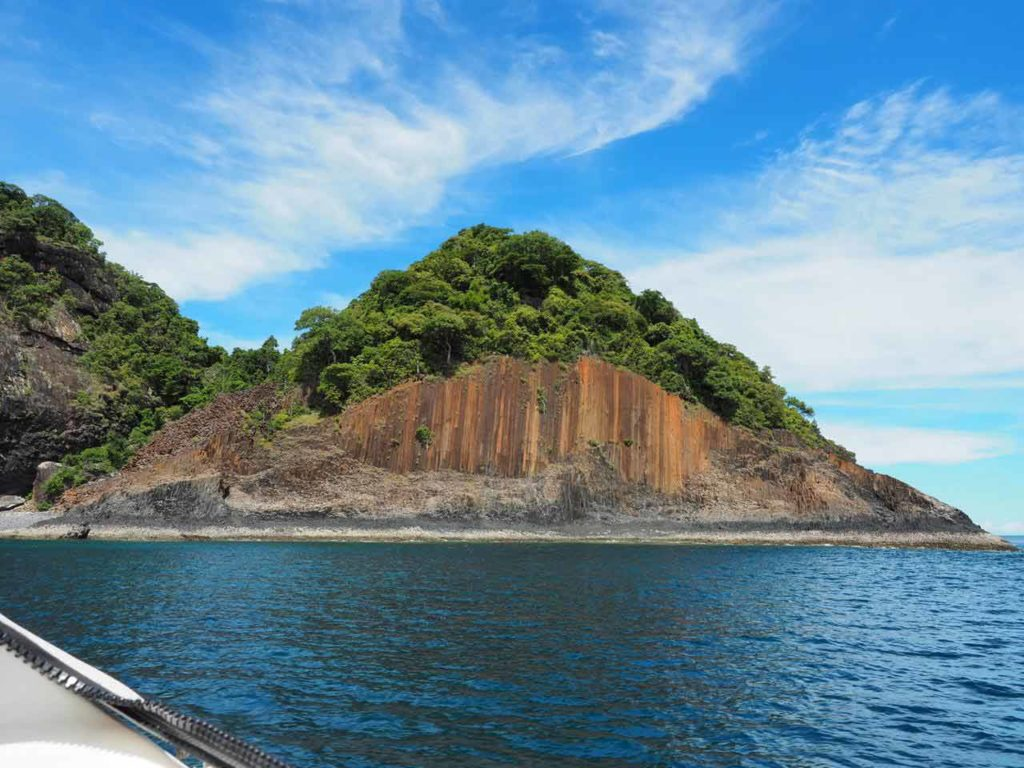 Mitsio island in Madagascar
