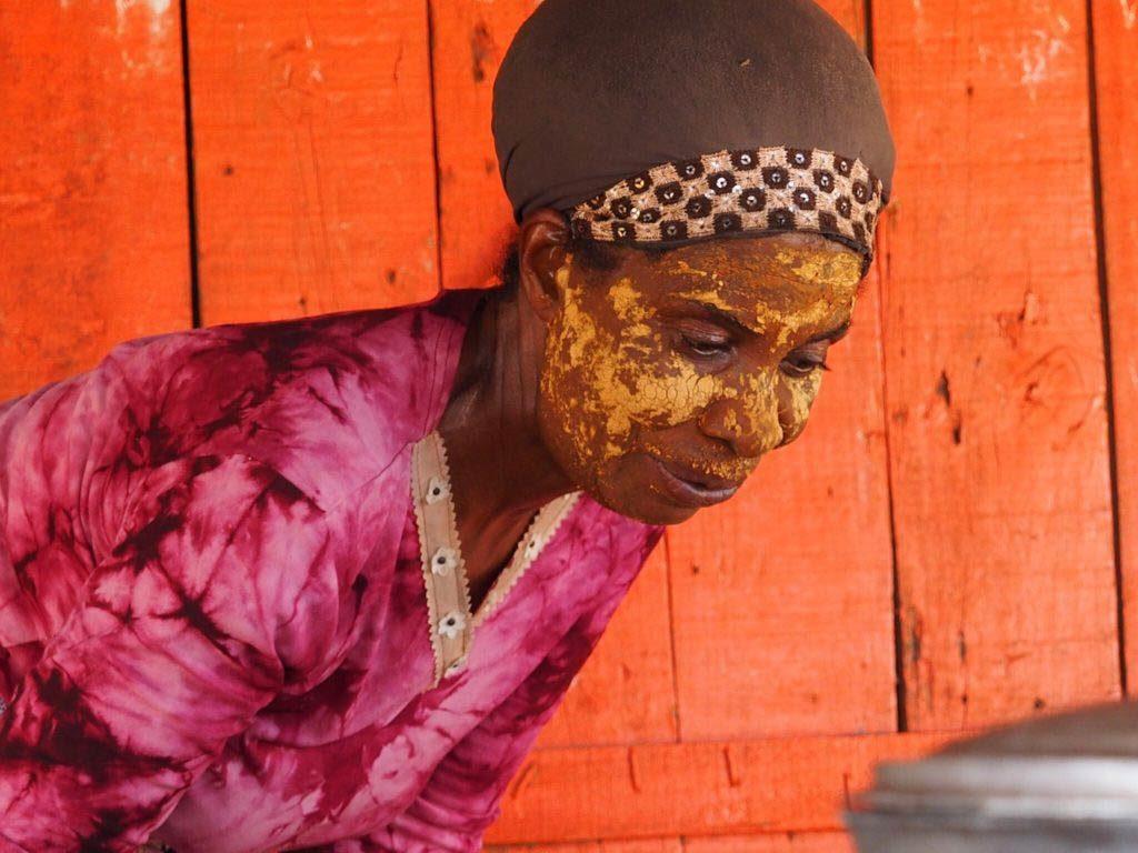 Woman in Nosy Komba