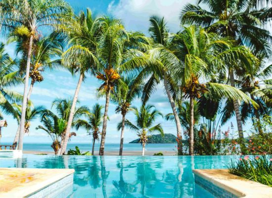 Swimming pool Vanila Hotel Nosy Be