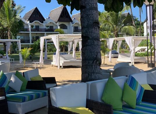 Sun bed at Royal Beach Hotel & Spa, Madagascar